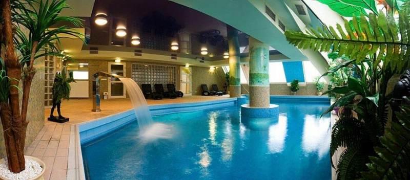 Strefa wellness w hotelu w Tychach