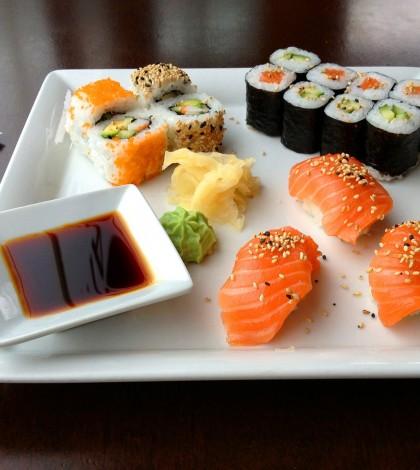 Sushi przygotowane w domu