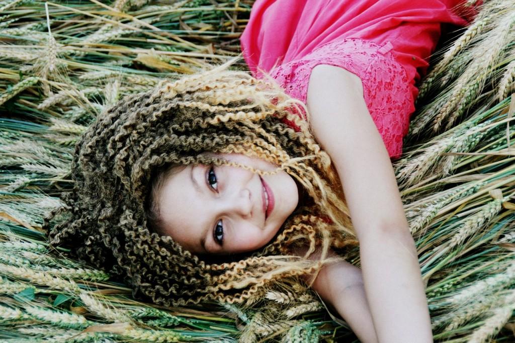 Olejowanie włosów kręconych