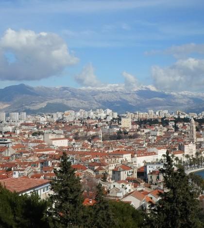 Widok na miasto Split