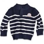 sweterek w paski marynarskie