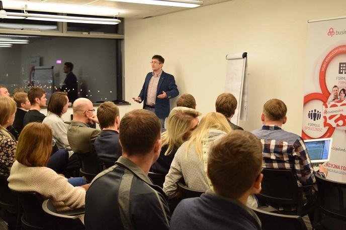 Wykład z cyklu Doing Business z pozycjonowania i marketingu szeptanego, na zaproszenie Business Link Katowice