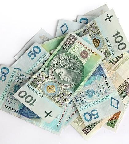 Pożyczka pieniędzy banknotów polskich