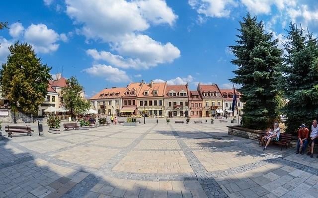 Plac w Sandomierzu