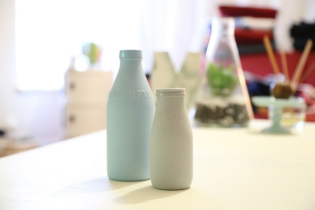 butelka z mlekiem