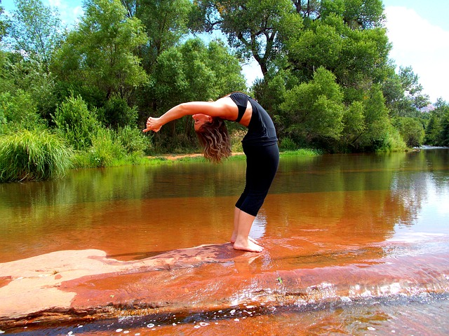 joga wychylenie