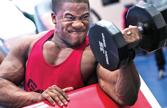 mięśnie mężczyzna