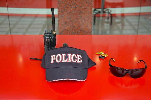 czapka policyjna