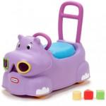 jeździk fioletowy hipopotam