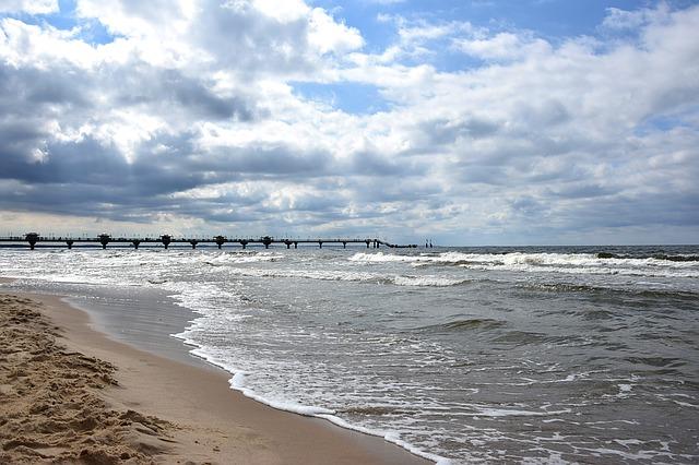 Międzyzdroje - plaża, molo