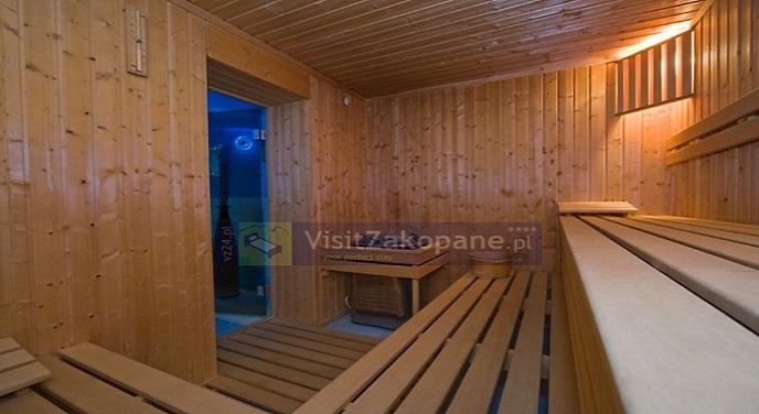 Sauna w apartamencie 3 Doliny w Zakopanem