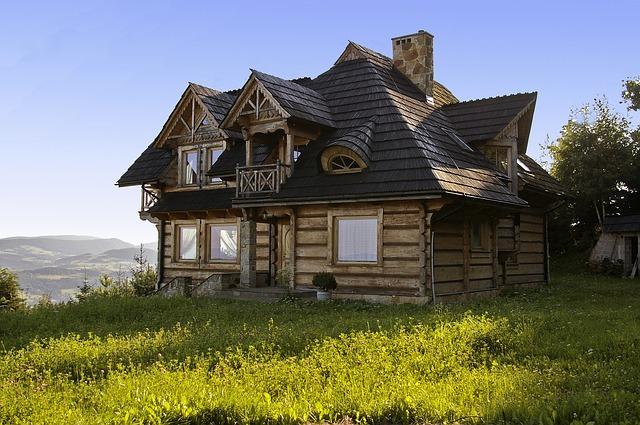 Całoroczny dom z drewna