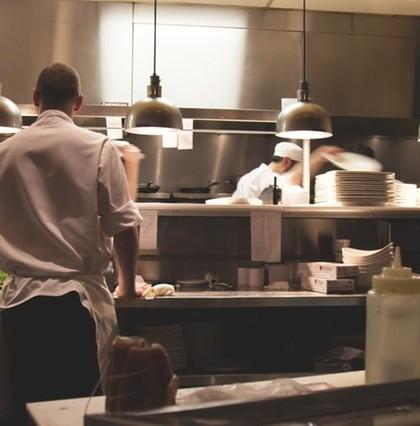 Kucharze w kuchni