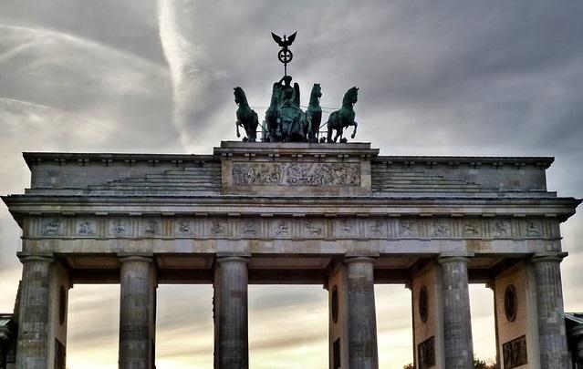 Niemcy - Brama Branderburska