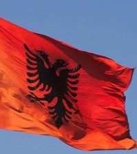 Flaga Albanii