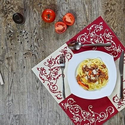 Posiłek na talerzu