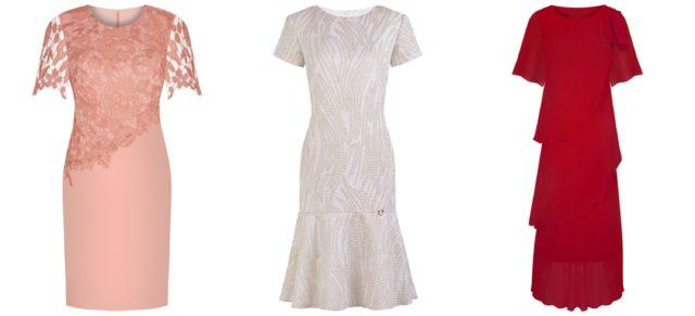 Sukienki wyjściowe w tonacji czerwonej