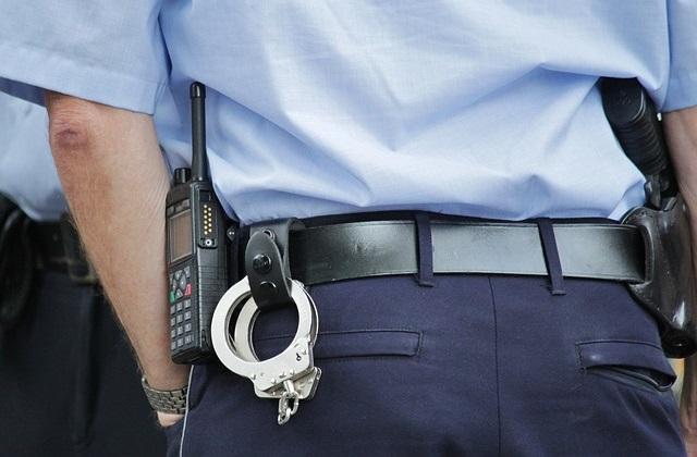 Policjant na służbie