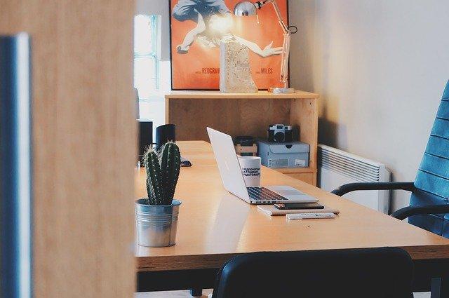 Nowoczesne firmowe biuro