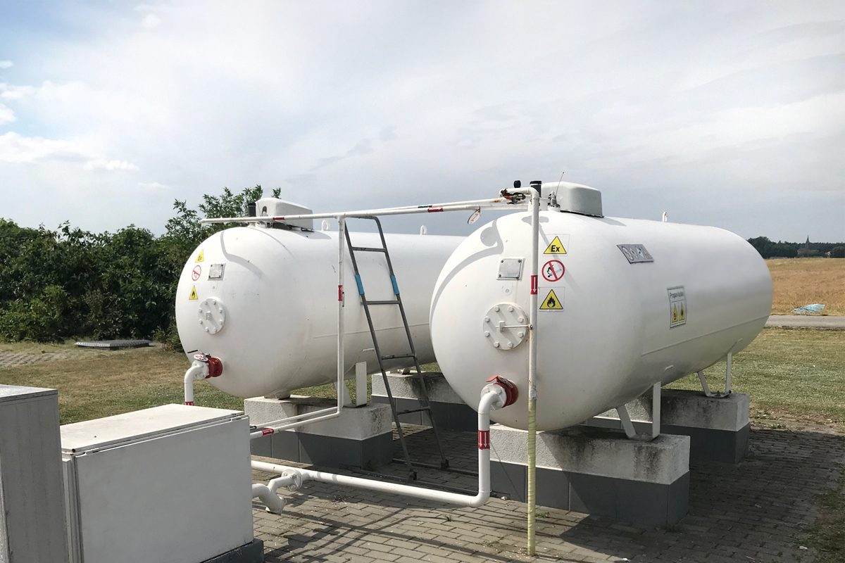 zbiorniki LPG z monitoringiem